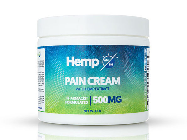 AM/PM Hemp Pain Relief Cream 500MG - Product Image