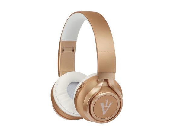 GK12 Over-Ear Bluetooth Headphones (Gold)