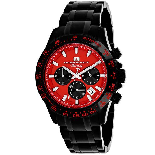 Oceanaut Men's Biarritz Red Dial Watch - OC6115