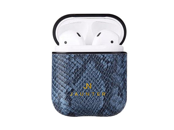 Jaunter AirPod Case (Poseidon Blue Serpent)