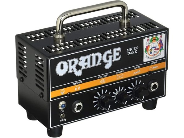Orange Amps (Micro Dark) 1 12AX7 20W Electric Guitar Power Amplifier - Black (Used, Damaged Retail Box)