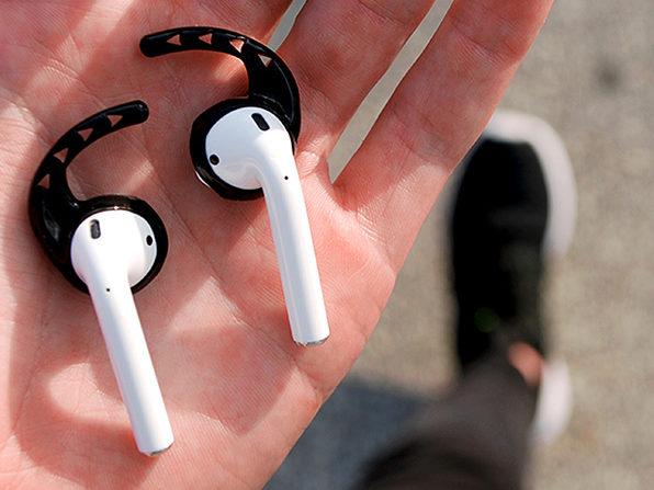 Earhoox 2.0 for Apple EarPods & AirPods: 2-Pack (Black