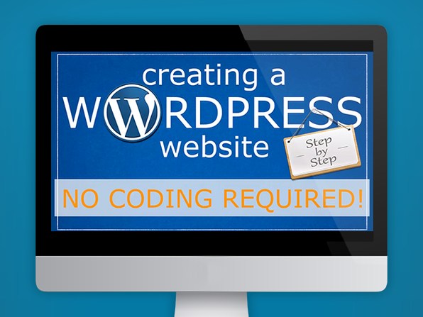 Create a WordPress Website - No Coding Required - Product Image
