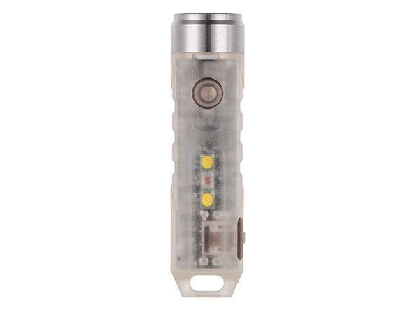 Aurora A5x GITD Keychain Flashlight with UV Sidelight