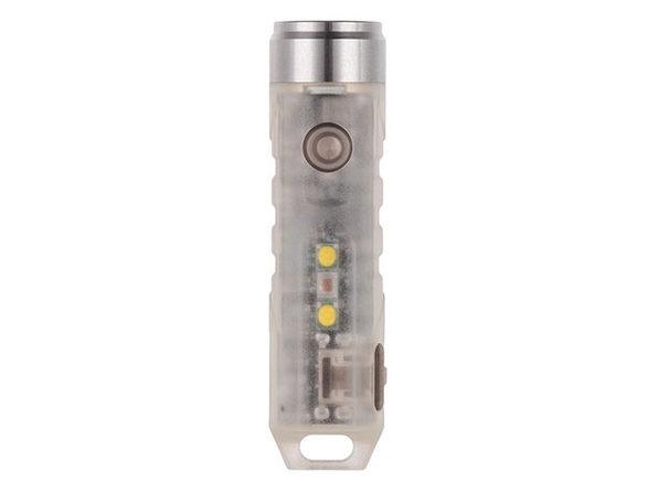 Aurora A5x GITD Keychain Flashlight with UV Sidelight