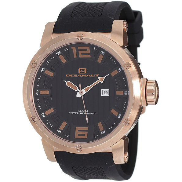 Oceanaut Men's Spider Black Dial Watch - OC2111