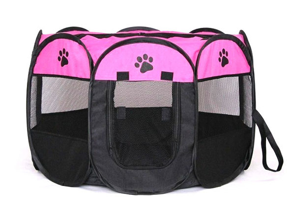 Portable Pet Tent (Rose Small) - Product Image