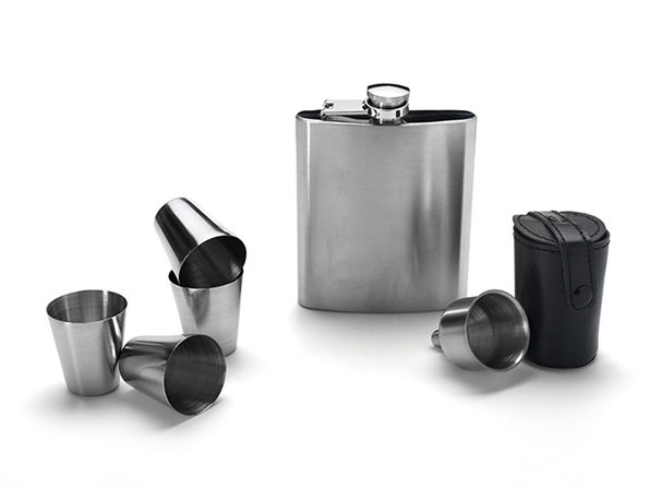 Eravino 7-Piece Flask Set
