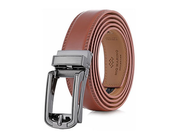 Formal Classic LINXX Ratchet Belt – Cognac