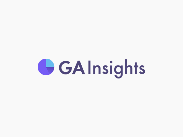 Stack Social Deal for GA Insights Business SaaS Tool: Lifetime Subscription