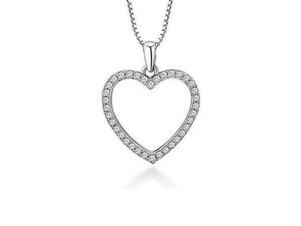 Hollywood Sensation's Open Heart Necklace