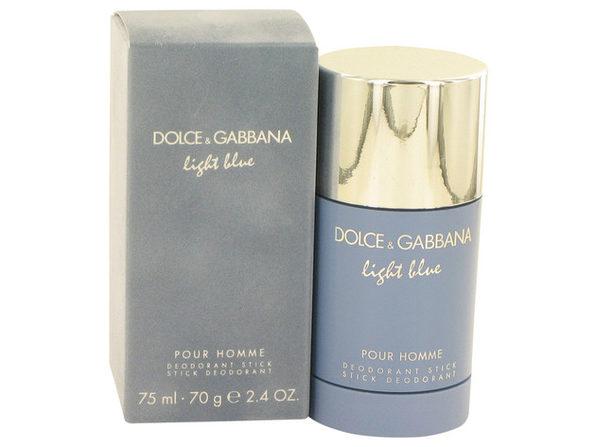 3 Pack Light Blue by Dolce & Gabbana Deodorant Stick 2.4 oz for Men