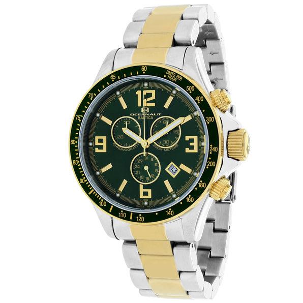 Oceanaut Men's Baltica Green Dial Watch - OC3333