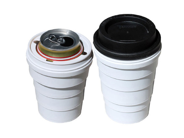 Trinken Lid: Hidden Coffee Cup Beer Cozy