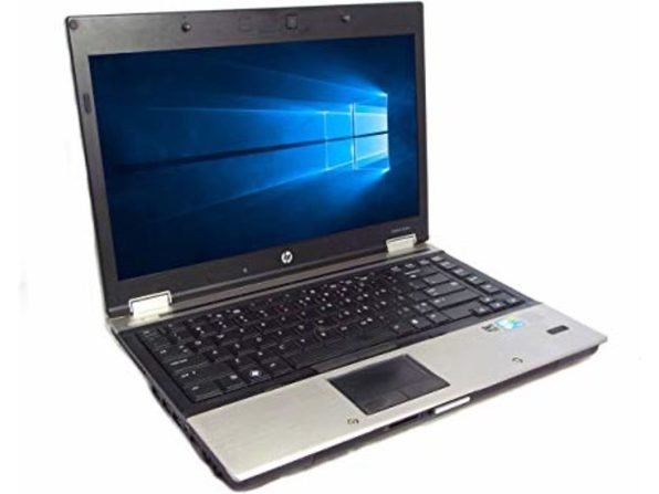 "HP 8440P 14"" Laptop, 2.4GHz Intel i5 Dual Core Gen 1, 4GB RAM, 250GB SATA HD, Windows 10 Home 64 Bit (Renewed)"