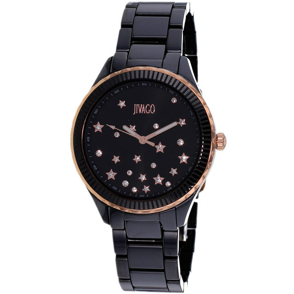 Jivago Women's Sky Black dial watch - JV2413