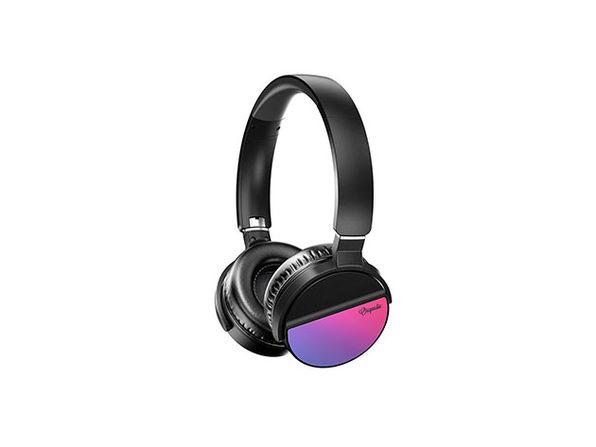 LUNATUNE Wireless Headphones - Purple - Product Image