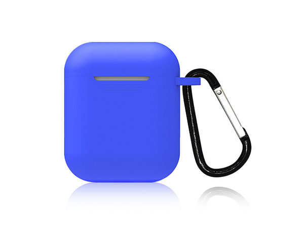 Cordless Earbuds Silicone Case	Blue - Product Image