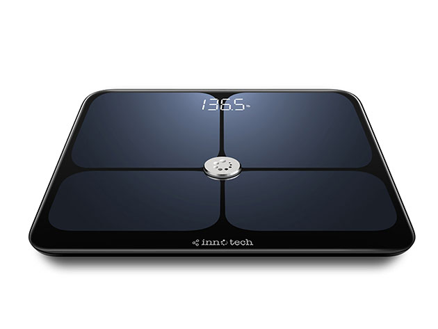 4.6/5 Star Rating on Amazon! Know Your Body Better: This App-Integrated Scale Provides & Sends 9 Precise Measurements and Insights Right to Your Phone