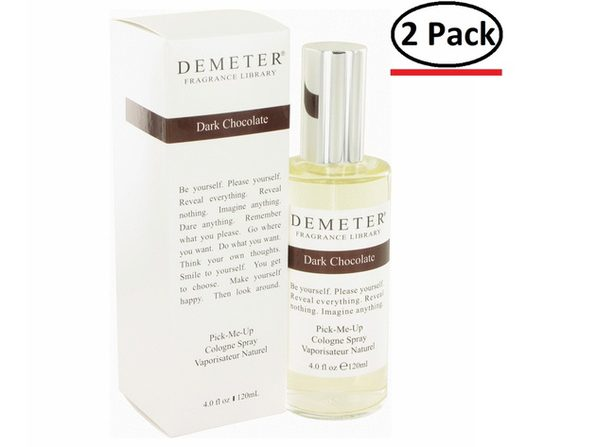Demeter by Demeter Dark Chocolate Cologne Spray 4 oz for Women (Package of 2) - Product Image