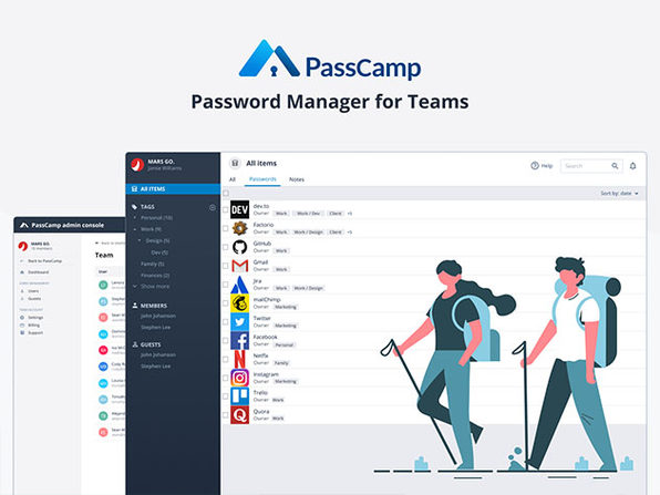PassCamp Password Manager: 3-Yr Subscription