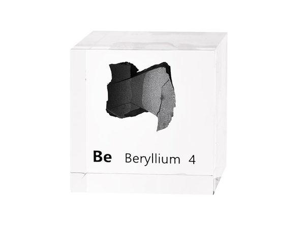Beryllium Cube - Product Image