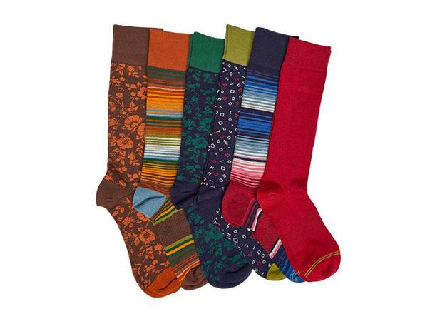 DeadSoxy Boardroom Socks 6-Pack: VP 3