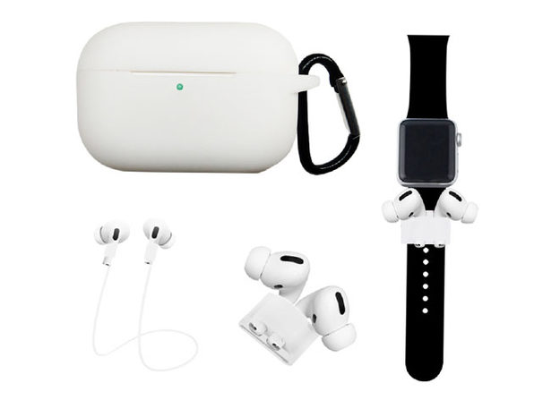 Airpods Pro Accessory Bundle White - Product Image