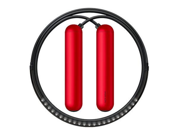 SmartRope: LED-Embedded Jump Rope (Red/Medium)