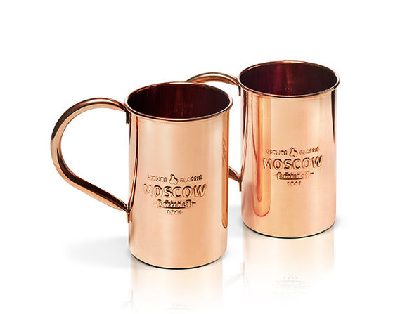 moscow copper co copper mule mugs 2pack - Copper Mule Mugs