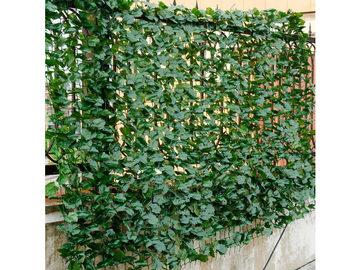 "Costway 59"" x 118"" Faux Ivy Leaf Artificial Hedge Fencing"