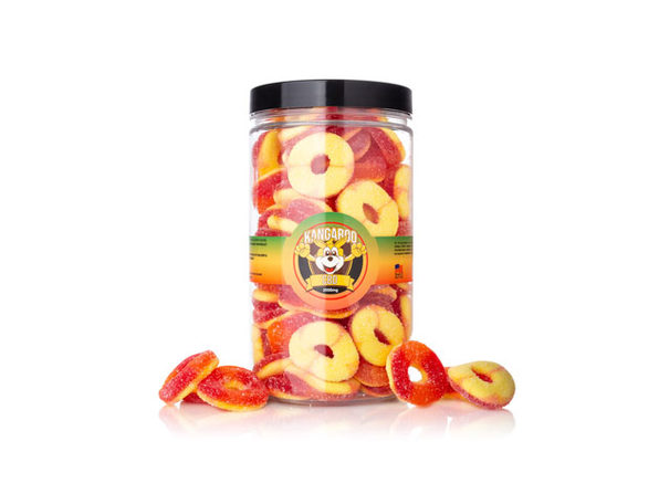 High Potency Organic CBD Peach Rings- 2000mg - Product Image