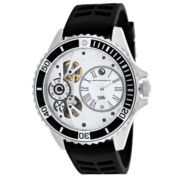 Oceanaut Men's Tide Silver Dial Watch - OC0990 - Product Image