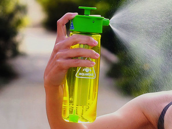 Lunatec 1L Hydration Spray Water Bottle