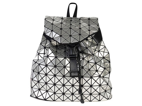 Geo Shaped Backpack - Silver - Product Image