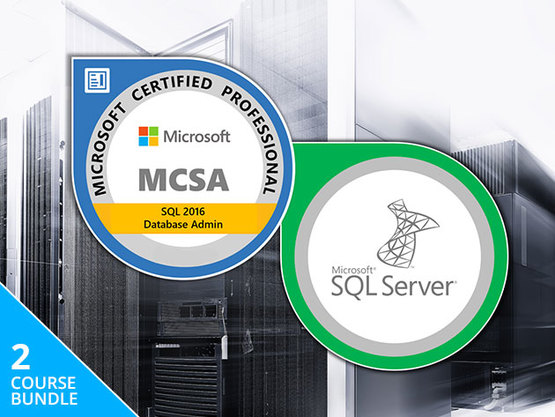 MCSA SQL Server Certification Training Course Bundle