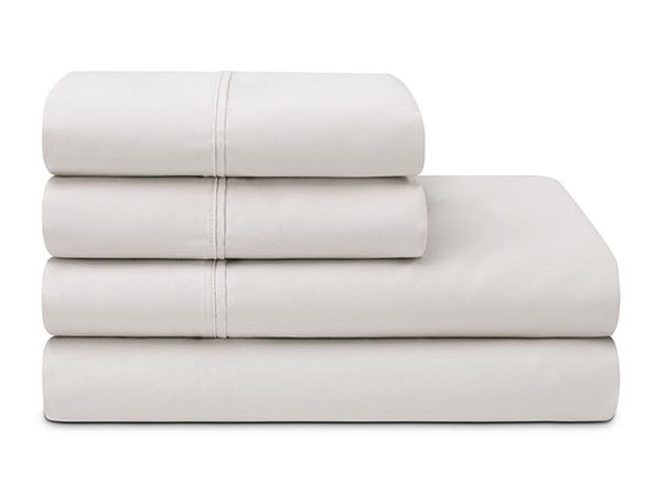 Sleepletics Celliant Performance 4-Pc Sheet Set (Light Grey/King)