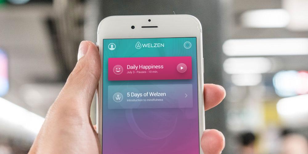 Welzen Meditation App: Lifetime Subscription, on sale for $29.99 (80% off)