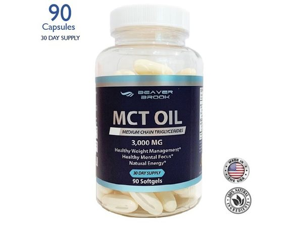Beaver Brook MCT Oil Dietary Supplement - 90