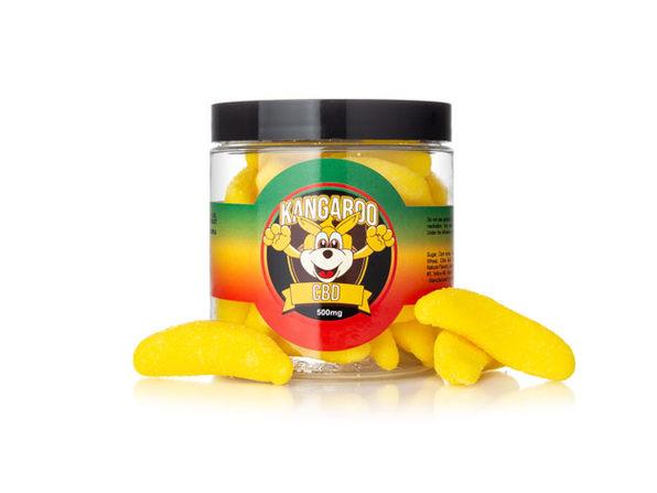 Kangaroo CBD Gummies- Banana 500 MG - Product Image
