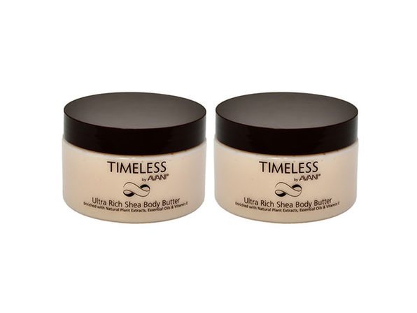 Timeless by AVANI®  Ultra Rich Shea Body Butter: 2-Pack