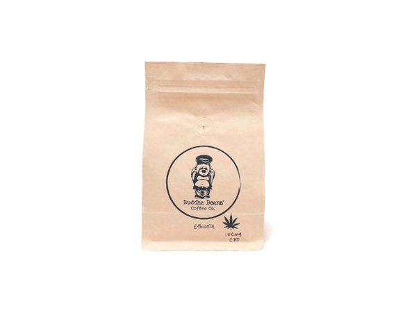Buddha Beans CBD-Infused Whole Coffee Beans (Ethiopia/6oz)