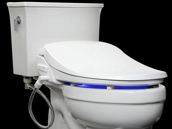 Alpha IX Hybrid Bidet Seat with Remote (Round)