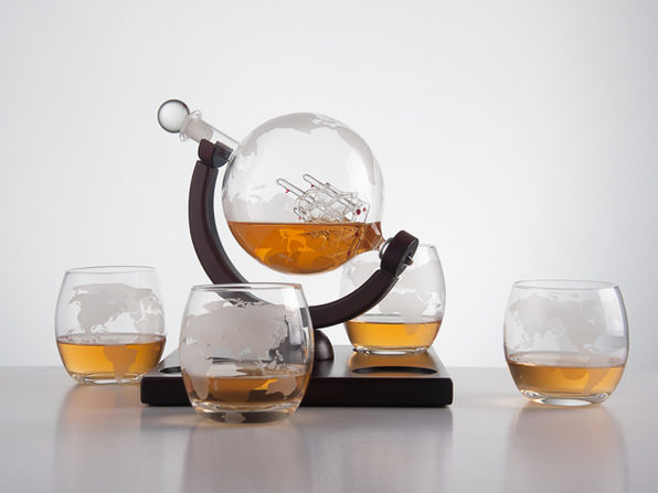 Eravino 5-Piece Decanter Set (Globe)