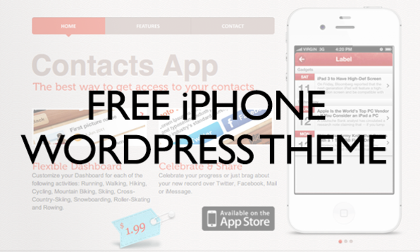 Free Iphone Wordpress Theme Stacksocial