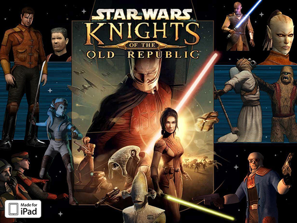 Star Wars®: Knights of the Old Republic™ For iPad - Product Image
