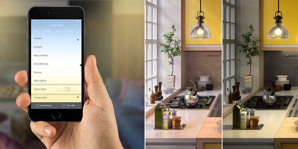 Color PAR30 Spot Smart Light Bulb, on sale for $42.99 (28% off)