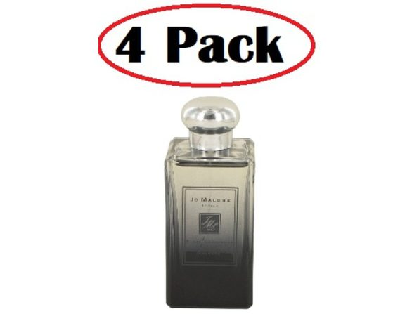 4 Pack of Jo Malone Black Cedarwood & Juniper by Jo Malone Cologne Spray (Unisex Unboxed) 3.4 oz - Product Image