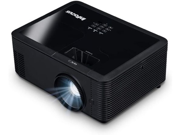 InFocus IN134 DLP XGA 4000 Lumens,3X HDMI,VGA,3D TechStation Projector