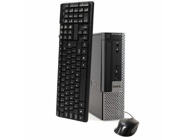Dell Optiplex 9020 Ultra Small Form Factor PC, 3.2GHz Intel i5 Quad Core Gen 3, 4GB RAM, 120GB SSD, Windows 10 Professional 64 bit (Renewed)